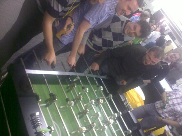 Foosball at the Symbian Foundation